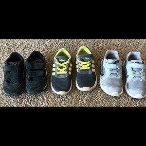 Toddler boys shoe bundle